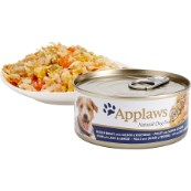 Applaws Chicken,salmon and Vegetable dog food 156g