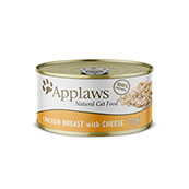 Chicken and Cheese Cat Food Tin 70g by Applaws