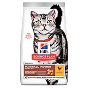 Hills Science Plan Indoor Adult Cat Food with Chicken 1.5kg