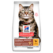 Hills Science Plan Hairball Control Mature / Senior 7+ Cat Food with Chicken 1.5kg