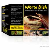 Meal Worm Feeder Dish