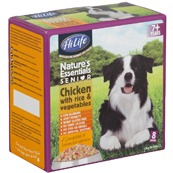 HiLife Natures Essentials Senior Dog Food with Chicken, Vegetables and Rice 150gm 8 Pack