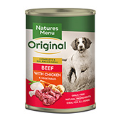Natures Menu Beef and Chicken 400g