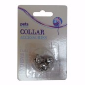 Chrome Cat Collar Bells