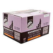 Wainwright's Adult Tray Dog Food with Duck and Rice 395gm 12 Pack