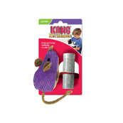 KONG Corduroy Catnip Mouse Cat Toy