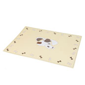 Buttons and Bear Puppy Placemat