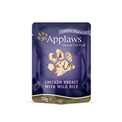Chicken Cat Food Pouch 70gm by Applaws