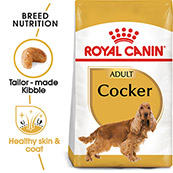 Royal Canin Adult Complete Dog Food for Cocker Spaniel 3kg