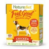 Naturediet Tray Adult Dog Food with Chicken, Vegetables & Rice 390gm