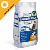 Advanced Nutrition Cat Food with Hairball Care 1.5kg