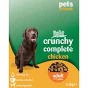 Crunchy Complete Adult Light Dog Food with Chicken