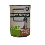 Advanced Nutrition Adult Dog Food with Chicken 395g