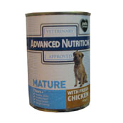 Advanced Nutrition Senior Dog Food with Chicken 395g