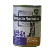Advanced Nutrition Light and Sensitive 395G TIN