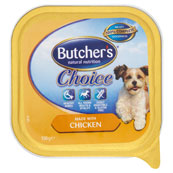 Butchers Choice made with Chicken 150g