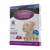 Natures Harvest Duck and Brown Rice 395g