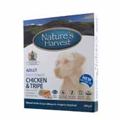 Natures Harvest Tripe and Brown Rice 395g