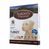 Natures Harvest Turkey and Brown Rice 395g