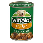 Winalot Classic Chicken in Jelly 400g