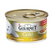 Gourmet Gold Turkey and Duck 85Gm