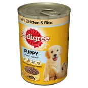 Pedigree Can in Jelly Puppy