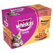 Whiskas Simply Braised Meat
