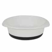 JW Large Skid Stop Bowl White