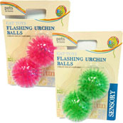 Flashing Urchin Balls 2 Pack