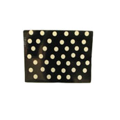 Black Polka Dot Placemat