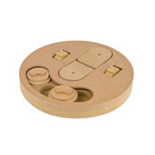 Wheelie Fun Wooden Treat Puzzle