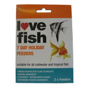 Love Fish 7 Day Holiday Feeders
