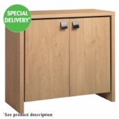 Roma 125 Oak Cabinet  (In Selected Stores)