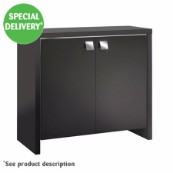 Roma 125 Black Cabinet (Available in store only)