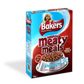 Bakers Meaty Meals Puppy with Beef 1kg