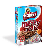 Bakers Meaty Meals Small Dog with Beef 1kg