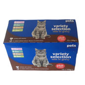 Pets at Home Selection in Gravy Senior Cat Food 12 x 100g