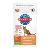 Hills Science Plan Feline Adult Optimal Care with Rabbit