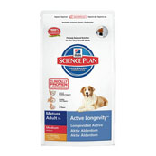 Hill's Science Plan Canine Mature Adult 7+ Active Longevity Medium Chicken 7.5kg