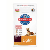 Hill's Science Plan Canine Adult Light Medium with Chicken 7.5kg