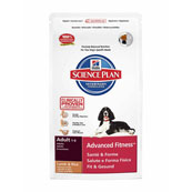 Hills Science Plan Canine Adult Advanced Fitness Medium with Lamb and Rice 7.5kg