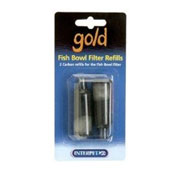 Gold Fish Bowl Filter Refills
