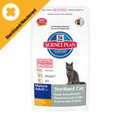 Hills Science Plan Mature Adult 7+ Sterilised Cat 1.5Kg