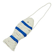 Scratch and Play Door Hanging Fish Scratcher