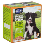 HiLife Natures Essentials Adult Dog Food Lamb with Rice and Vegetables 8 x 150g