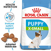 Royal Canin X-Small Breed Junior Dog Food 1.5kg