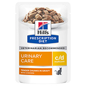 Hill's Prescription Diet c/d Feline Pouch 12 x 85g (Online Only)