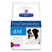Hill's Prescription Diet d/d Canine Duck and Rice  (Online Only)