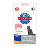 Hills Science Plan Feline Mature Sterilised Cat Food with Chicken 3.5kg (Online Only)