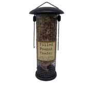 Filled Metal Peanut Feeder